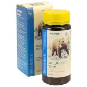 "Медвежий жир 100мл ""Сустамед""."