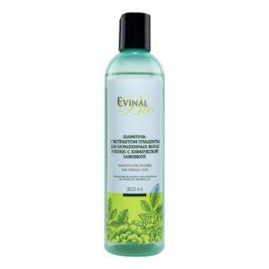 """Восстанавливающий шампунь Evinal Bio с экстрактом плаценты для окрашенных волос, 300мл """"Evinal""""."""