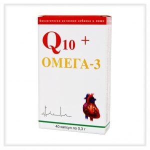 Q10+омега-3 капсулы №40