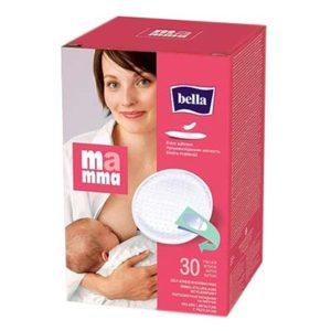 """Вкладыши """"Bella Mamma"""" для груди в период вскармливания на липучке, 30 штук"""