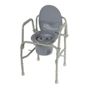 """Кресло-туалет 10583 (h48-58) 3 в 1 """"Симс""""."""