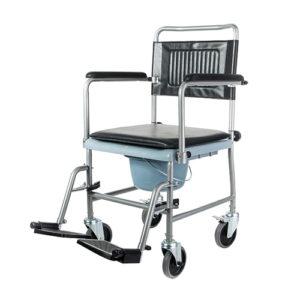"""Кресло-каталка Barry 5019W2P с туалетным устройством """"Симс""""."""