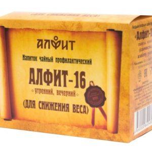 Алфит 16 Для снижения веса 60 брик