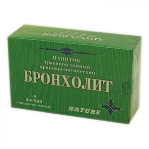 Сухой напиток Бронхолит 20ф/п