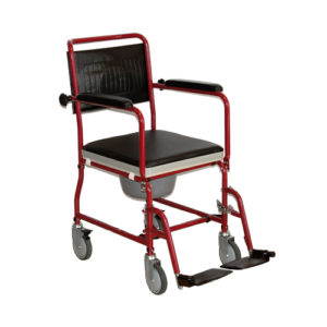 """Кресло-коляска ивалидная со съемным санитарным устройством FS 692-45 (44см) """"Мега-Оптим""""."""