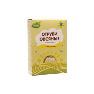 """Отруби овсяные натуральные 200г """"Компас здоровья""""."""
