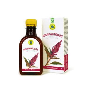 Масло Амарантовое 200мл (на основе льняного масла)