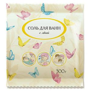 """Соль для ванн с хвоей """"Аптечный союз"""" 300 г"""