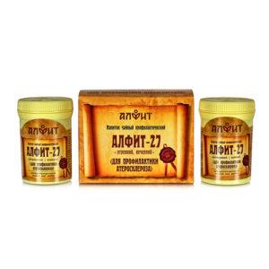 Алфит 27 Для профилактики атеросклероза 60 брик