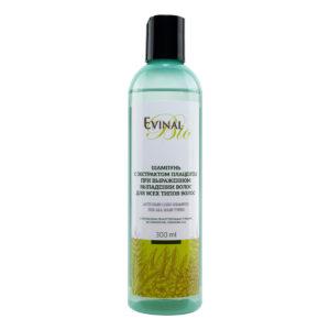"""Шампунь Evinal Bio с экстрактом плаценты при выраженном выпадении волос, 300мл """"Evinal""""."""