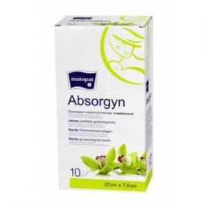 Прокладки послеродовые стерильные Matopat Absorgyn, 10шт.