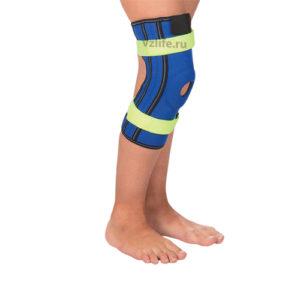 """Детский бандаж на коленный сустав с пружинными ребрами жесткости Т-8530 (№1/XXXS) """"Тривес""""."""