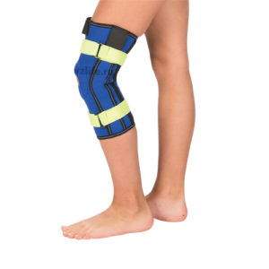 "Детский бандаж на коленный сустав с металлическими шарнирами Т-8532 (№1/XXXS) ""Тривес""."