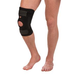 """Бандаж на коленный сустав со спиральными ребрами жесткости Т-8512 (№1/S) """"Тривес""""."""