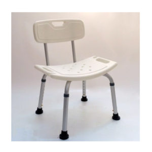 "Стул KJT501 для ванной комнаты со спинкой ""Мега-Оптим""."