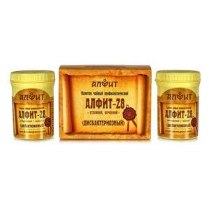 Алфит 28 Для профилактики и лечения дисбактериоза 60 брик