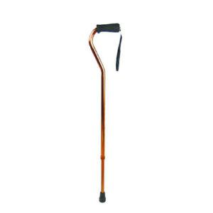 """Трость 10100S/BZ (бронза) телескопическая, мягкая резиновая ручка """"Симс""""."""