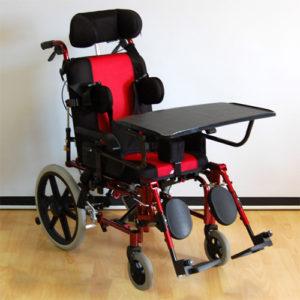 """Кресло-коляска инвалидная для больных ДЦП FS 958LBHP (38см) литые колеса """"Мега-Оптим""""."""
