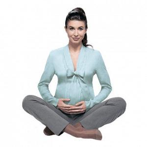 Компрессионные колготки для беременных VENOTEKS TREND 2С405 (L) бежевые (2 класс)