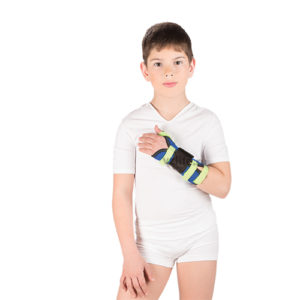 """Детский бандаж на лучезапястный сустав (с фиксацией 1-го пальца) Т-8330 (№1/XXХS) левый """"Тривес""""."""