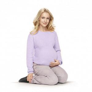 Компрессионные колготки для беременных VENOTEKS COMFORT 2C402 (L) бежевые (2 класс)