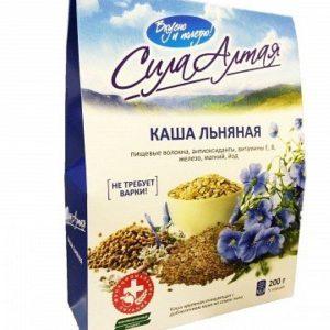 Каша Льняная с маслом 200г (Специалист)