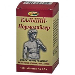Кальций Нормолайзер таблетки №100
