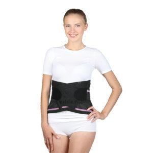 """Ортопедический корсет для женщин Т-1502 (№3/S) h29см бежевый """"Тривес Evolution""""."""