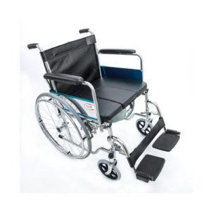 """Кресло-коляска ивалидная со съемным санитарным устройством FS 681-45(U) (41см) """"Мега-Оптим""""."""