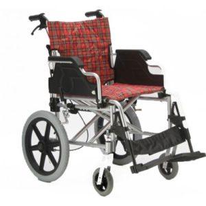 """Кресло-коляска ивалидная FS 901Q-41 (41см) полиуретановые колеса """"Мега-Оптим""""."""