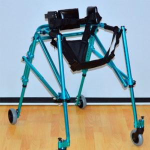 """Опоры-ходунки на колесах с подлокотной опорой HMP-KA 3200 для детей с ДЦП """"Мега-Оптим""""."""