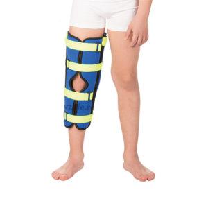 """Детский бандаж на коленный сустав для полной фиксации (тутор) Т.44.45 (Т-8535) (XS) """"Тривес""""."""
