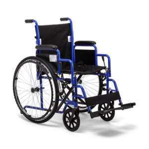 "Кресло-коляска H035S литые колеса (41см) ""Армед""."
