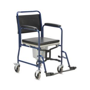 """Кресло-каталка с санитарным оснащением H 009B """"Армед""""."""