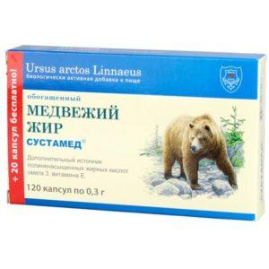 "Медвежий жир №120 ""Сустамед""."