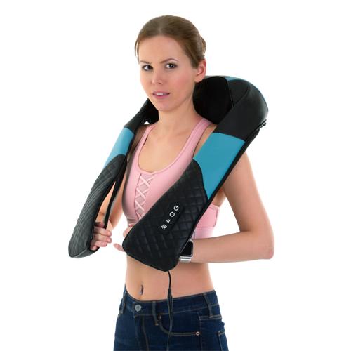 """Роликовый массажер для шеи и плеч с ИК-прогревом """"Soft Roller""""."""